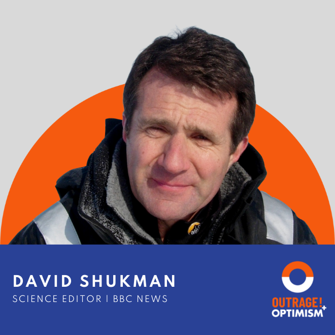 Turning Around In a Storm with David Shukman cover art